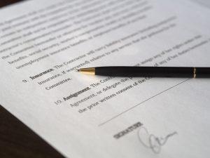 Юридический документ